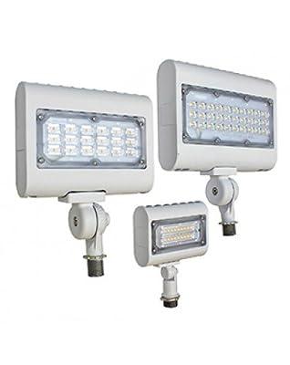 Westgate Lighting LED Flood Light With Knuckle Mount - Best Security Landscape Lights Fixture For Outdoor, Yard, Garden - Safety Floodlights - UL Listed 7 Year Warranty