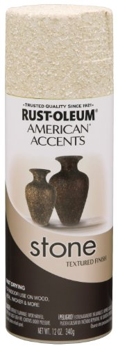 Rust-Oleum 7990830 Stone Creations Spray, 12 oz, Bleached Stone (Bleached Wood)