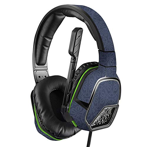 MightySkins Skin Compatible with PDP Xbox One Afterglow LVL 3 Headset - Charcoal Lattice   Protective, Durable, and Unique Vinyl wrap Cover   Easy to Apply, Remove   Made in The USA