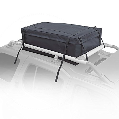 LT Sport SN#100000001010-224 for Jeep Roof-Mount Black Roof Cargo Bag Top Waterproof Storage
