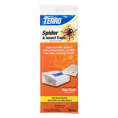 45 Day Bed - Terro T3206 Spider & Insect Trap (4 Count)