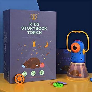 Amazon.com: Linterna de proyección de historia con luz ...