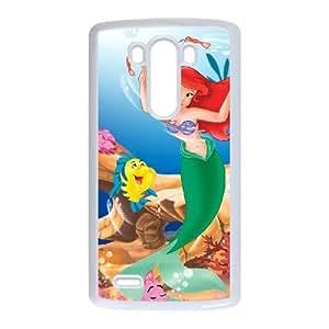 LG G3 Cell Phone Case White Little Mermaid ballistic phone cases hkhf7078001
