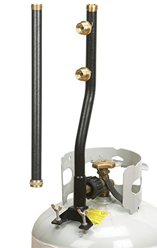 Stansport 3 Outlet Propane Distribution Post (2-Piece) by Stansport
