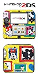 Disney Mickey Mouse Special Edition Limited Video Game Vinyl Decal Skin Sticker Cover for Nintendo 2DS System Console