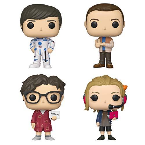 Funko TV: Pop! Big Bang Theory Series 2 Collectors Set 1 - Howard, Sheldon, Leonard, Penny]()