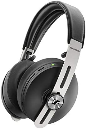 Sennheiser Momentum 3 Wireless Noise Cancelling Headphones with Alexa, Auto On Off, Smart Pause Functionality and Smart Control App, Black