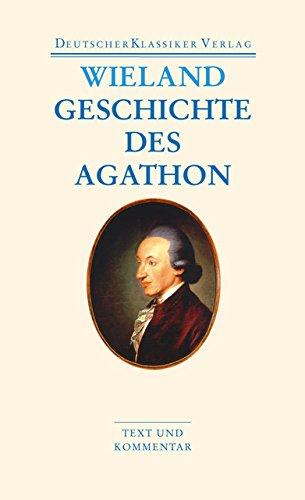 Geschichte Des Agathon  DKV Taschenbuch