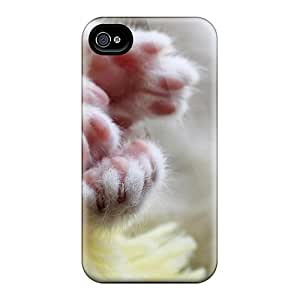 High Quality Kitty Paws Case For Iphone 4/4s / Perfect Case