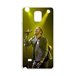 Coldplay Samsung Galaxy Note 4 Cell Phone Case White WON6189218025617