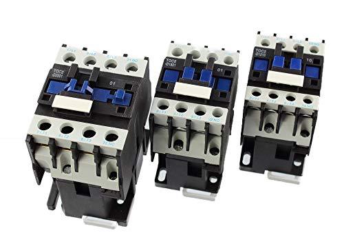 3-polig 230 V N//O Wechselstrom-Kontaktor 25 A