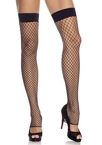 (Leg Avenue Womens Industrial Fishnet Thigh High Leg)