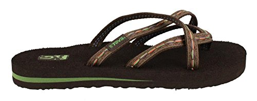 Teva Women's Olowahu Flip-Flop - 9 B(M) US - Felicitas - Discounters Warehouse