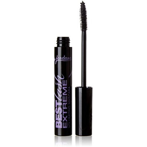 Jordana Best Lash Extreme Volumizing Mascara, Black [301] 0.30 oz (Pack of 12)