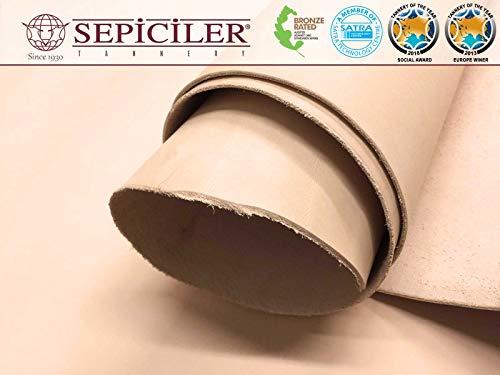 Import Tooling Veg Tan Single Cowhide Leather Shoulder 8/9 oz.4-6 SQF by SEPICI (Image #5)