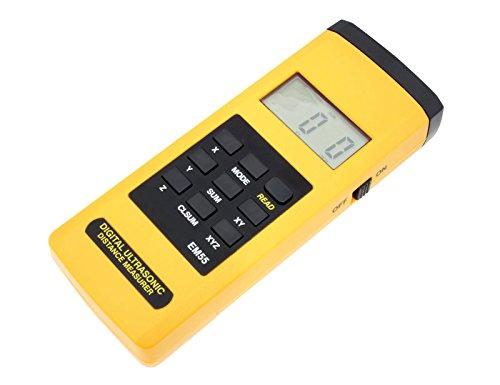 Ultraschall Entfernungsmesser Bedienungsanleitung : All sun ultraschall entfernungsmesser em amazon baumarkt