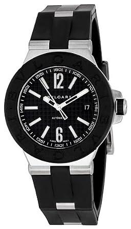 amazon com bvlgari diagono automatic steel mens watch dg40bsvd bvlgari diagono automatic steel mens watch dg40bsvd