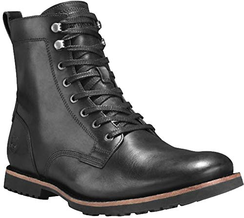 - Timberland Men's Kendrick Side Zip Boot Black Full Grain 10.5 D US