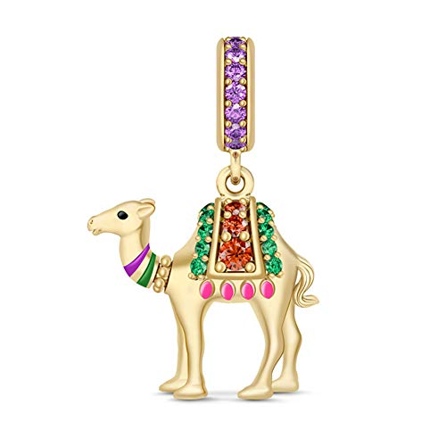 GNOCE Camel Charm Gold...