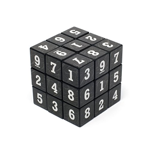 Loftus Sudoku Puzzle Cube - A Fun Portable Take On The Classic Sudoku Game - Can You Solve All 6 Sides, - Rubiks Sudoku Cube