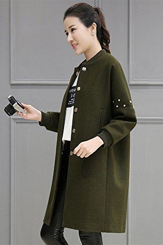 Beaded Wool Coat - 2
