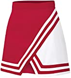 Womens Double-Knit Panel A-Line Cheerleading Uniform Skirt