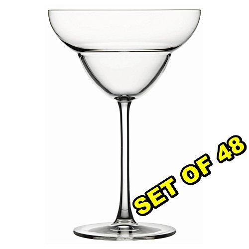 (Set of 48) PREMIUM Unbreakable REUSABLE Polycarbonate Margarita Commercial Bar Pub Restaurant Drinking Glasses Cocktail Barware Drinkware 12 oz, Clear by Remta Makina (Image #4)