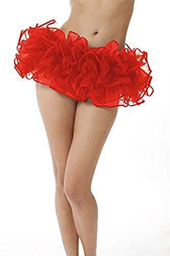 Adult Organza Poofy Ballet Style Tutu w/Binding for Halloween Costume, Princess Tutu, Ballet Tutu, Dance Outfit, or Fun Run