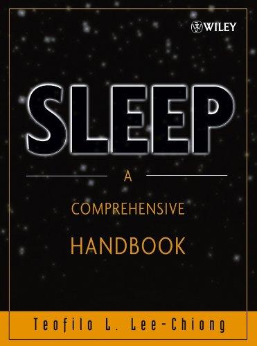 Sleep: A Comprehensive Handbook: Amazon.es: Teofilo L. Lee-Chiong: Libros en idiomas extranjeros