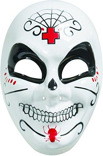 Men's Dia De Los Muertos Mask by Charades (Dia Del Los Muertos Costume)
