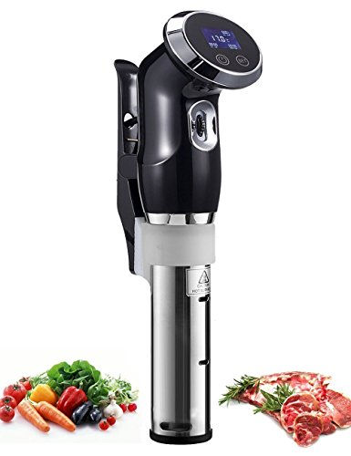 Upgraded Aobosi SV-8001Sous Vide Thermal Immersion Water Circulator Cooker At Home With Precise Temperature&Accurate Timer Function,Digtal Touch-Screen LCD Display ,Stainless Steel Stick