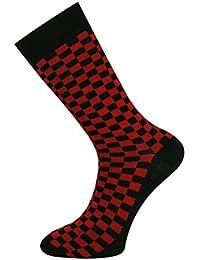 Men Socks Argyle, Checked and Plaid Design Socks Size 6 to 11
