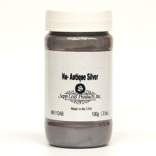 Sepp Leaf Mica Powder Nu-Antique Silver 3.53 Ounce Bottle by Sepp Leaf