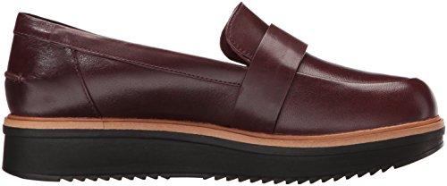 Sneaker Donna Burgundy Donna Clarks Sneaker Clarks Burgundy Leather nzq5xRw87R