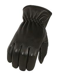 Milwaukee Leather Men's Deer Skin Winter Lined Gloves (Black, X-Large)