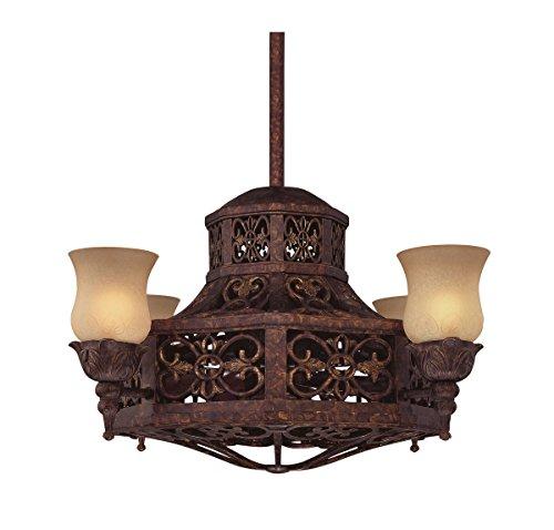 Savoy House Outdoor Ceiling Fan (Savoy House 14-280-FD-56 Fire Island 14