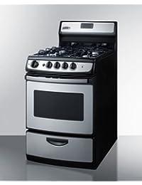 Summit PRO246SS Kitchen Cooking Range, Stainless-Steel