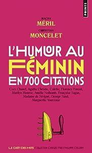 """Afficher """"L'humour au féminin"""""""