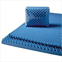Lumex 7-2000C Convoluted Foam Mattress Pads Size: Full, Thickness: 3