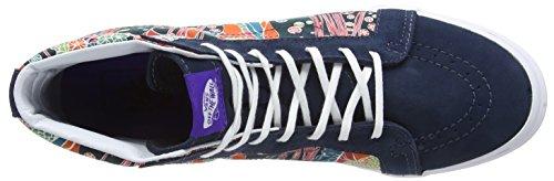 Vans Sk8-hi Slim Scarpe da Ginnastica Alte Unisex – Adulto Multicolore (liberty/sea Floral/true White)