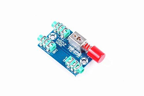 Audio Switching Board 3.5mm audio input A/B Group input Switch Select output
