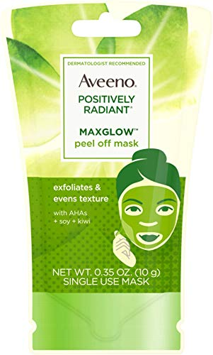 AVEENO Positively Radiant MaxGlow Peel Off Exfoliating Face