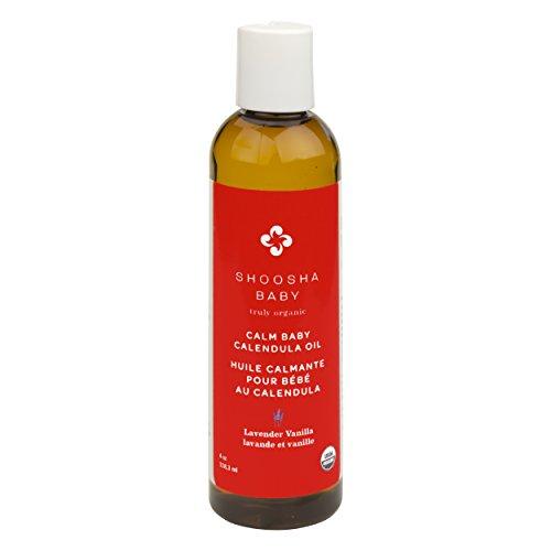 Shoosha Calm Baby Calendula Oil Lavender (Kushies Baby Cap)