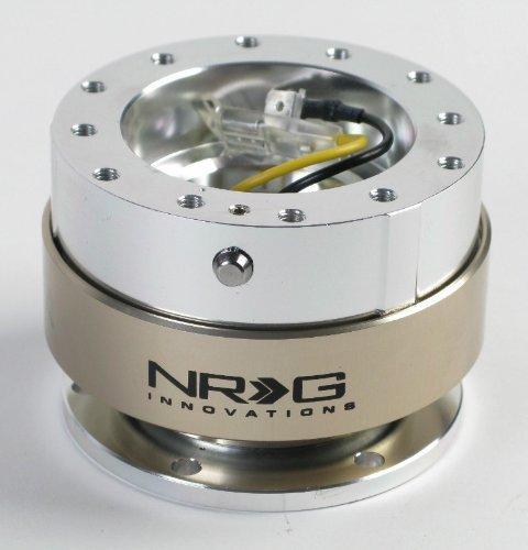 NRG Innovations SRK-100TI Silver/Titanium Quick Release Kit