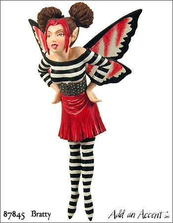 UPC 636972878455, Bratty Fairy Diva Based On Amy Brown Art Work