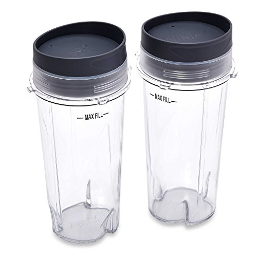 Set of Two Gift Bundle - Ninja72-oz Black 3-Speed 1,100-Watt Pulse Control Blender BL660 289619083
