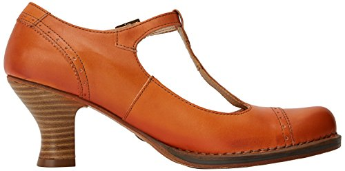 Neosens Damen S849 Restored Skin Carrot/Rococo T-Spangen Pumps Orange (Carrot)