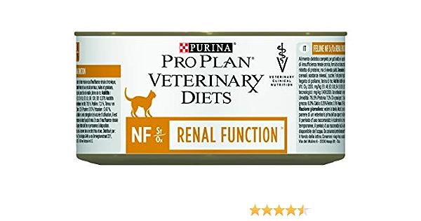 Nestlé PURINA PROPLAN NF RENAL Function Veterinary Diets Gato 195 GR X 12: Amazon.es: Hogar