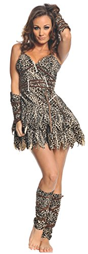 Underwraps Costumes  Women's Sexy Cave Man Costume - Goin' Clubbin', Leopard, Small