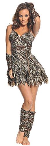 Underwraps Costumes  Women's Sexy Cave Man Costume - Goin' Clubbin', Leopard, X-Large]()